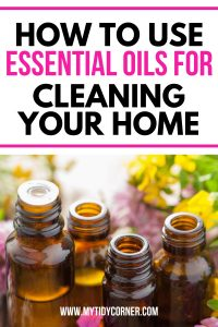 Image of the best essential oils for cleaning your home