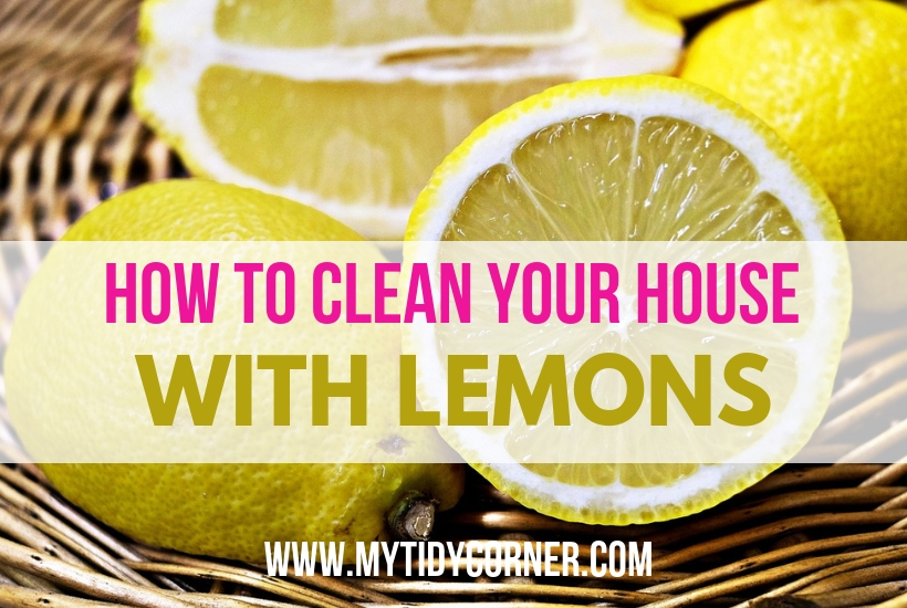 Lemons - Cleaning with a lemon