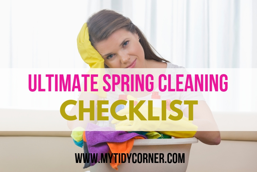 Home spring cleaning checklist
