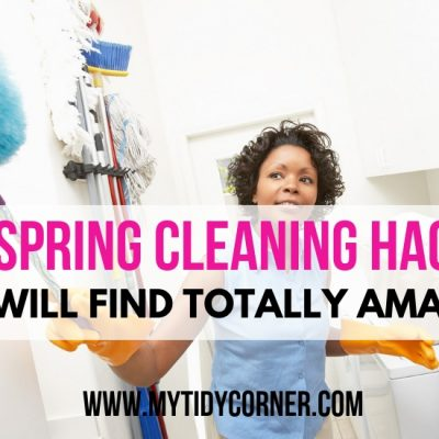 27 Spring Cleaning Hacks