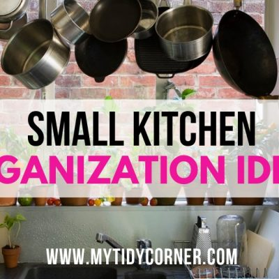 15 Clever Small Kitchen Organization Ideas
