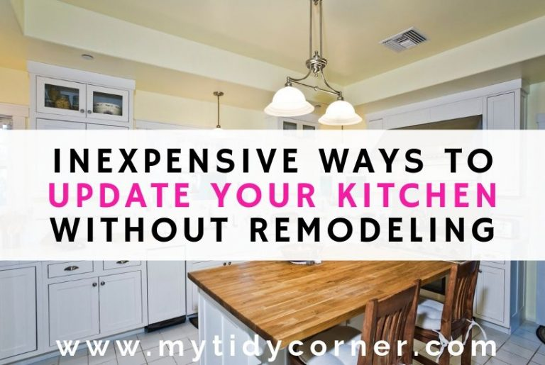 A kitchen with text inexpensive ways to update your kitchen without remodeling