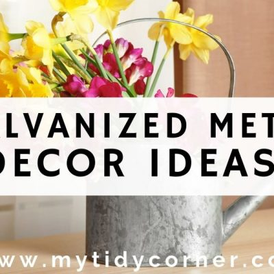 9 Galvanized Metal Decor Ideas for Your Home
