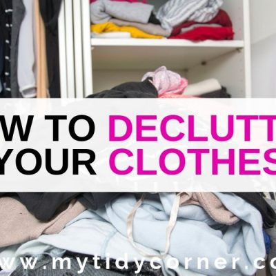 How to Declutter Your Clothes