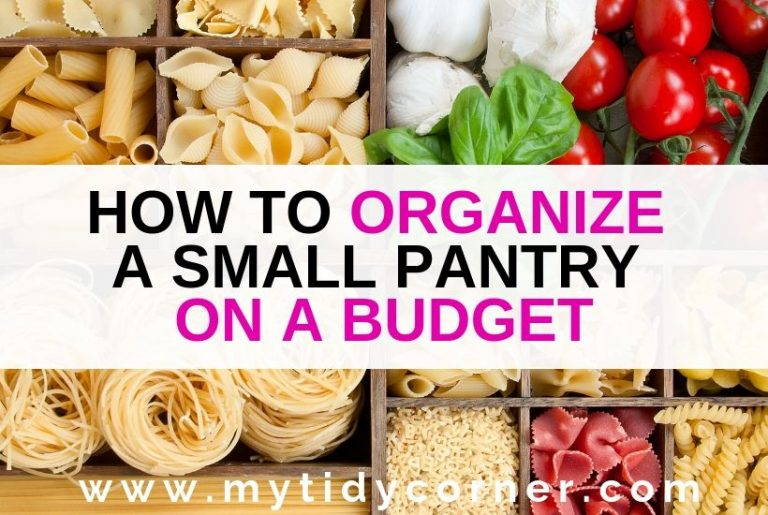 Small pantry organization tips and ideas