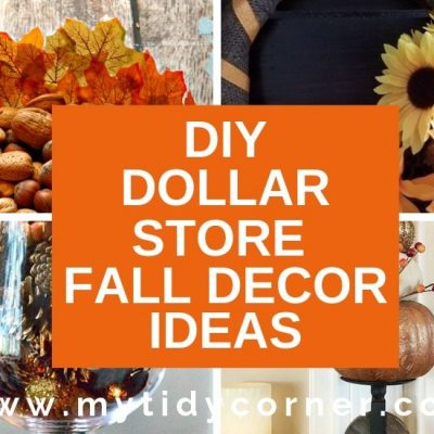 15 DIY Dollar Store Fall Decor