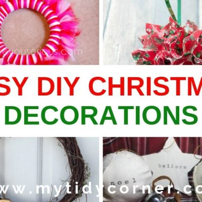17 Easy DIY Christmas Decorations