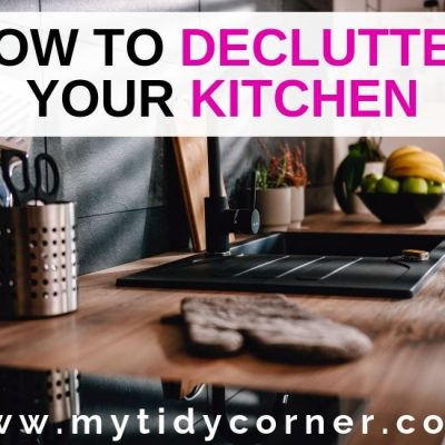 How to Declutter Your Kitchen