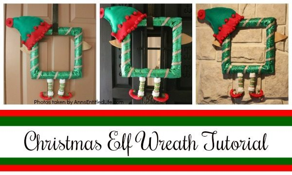 Christmas Elf Wreath Tutorial