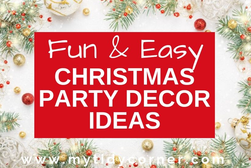 Christmas party home decorating ideas
