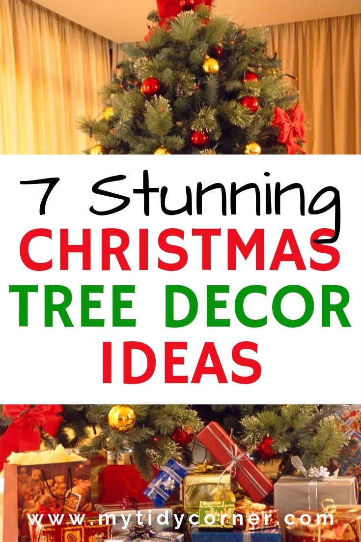 7 Christmas Tree Decorating Ideas Creative And Simple