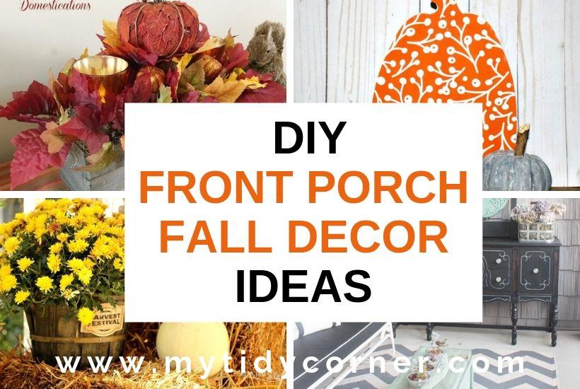 DIY front porch Fall decor ideas