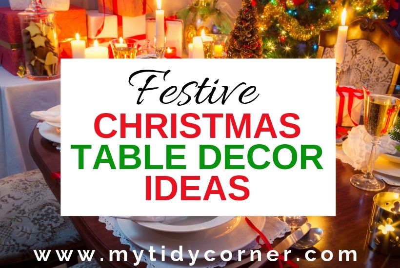 Elegant Christmas tablescape ideas