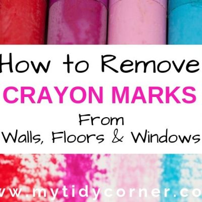 How to Remove Crayon Marks from Walls, Floors and Windows