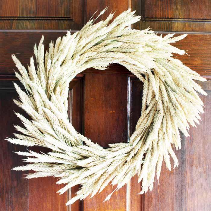 Wheat Wreath: Make One This Fall