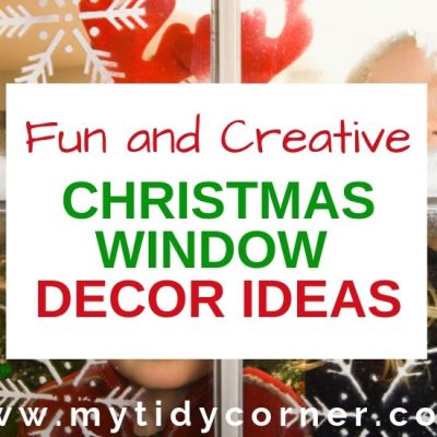 Christmas Window Decoration Ideas for the Home
