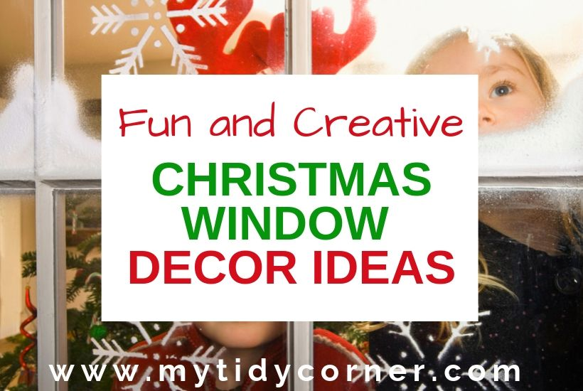 Christmas window decoration ideas for home