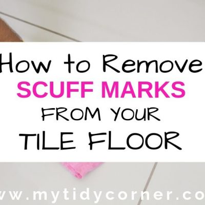 How to Get Scuff Marks off Tile Floors