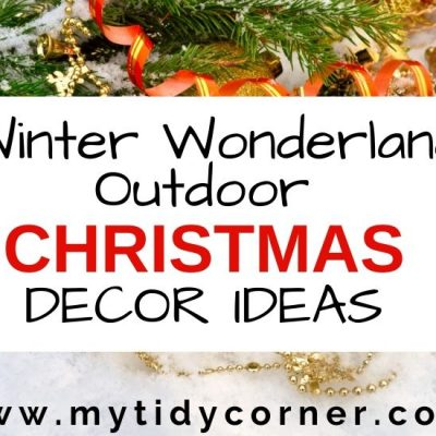 Winter Wonderland Outdoor Christmas Decorating Ideas