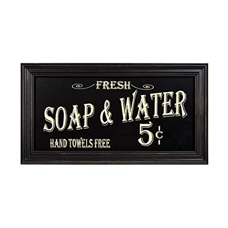 Vintage Bath Wall Art