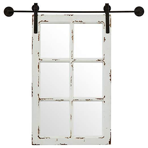 Vintage Window Style Mirror