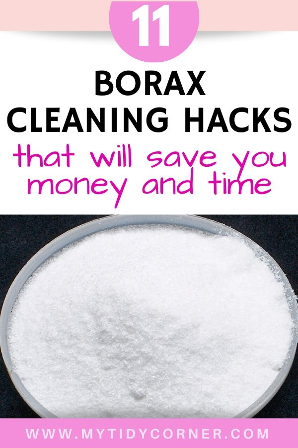 Borax cleaning hacks