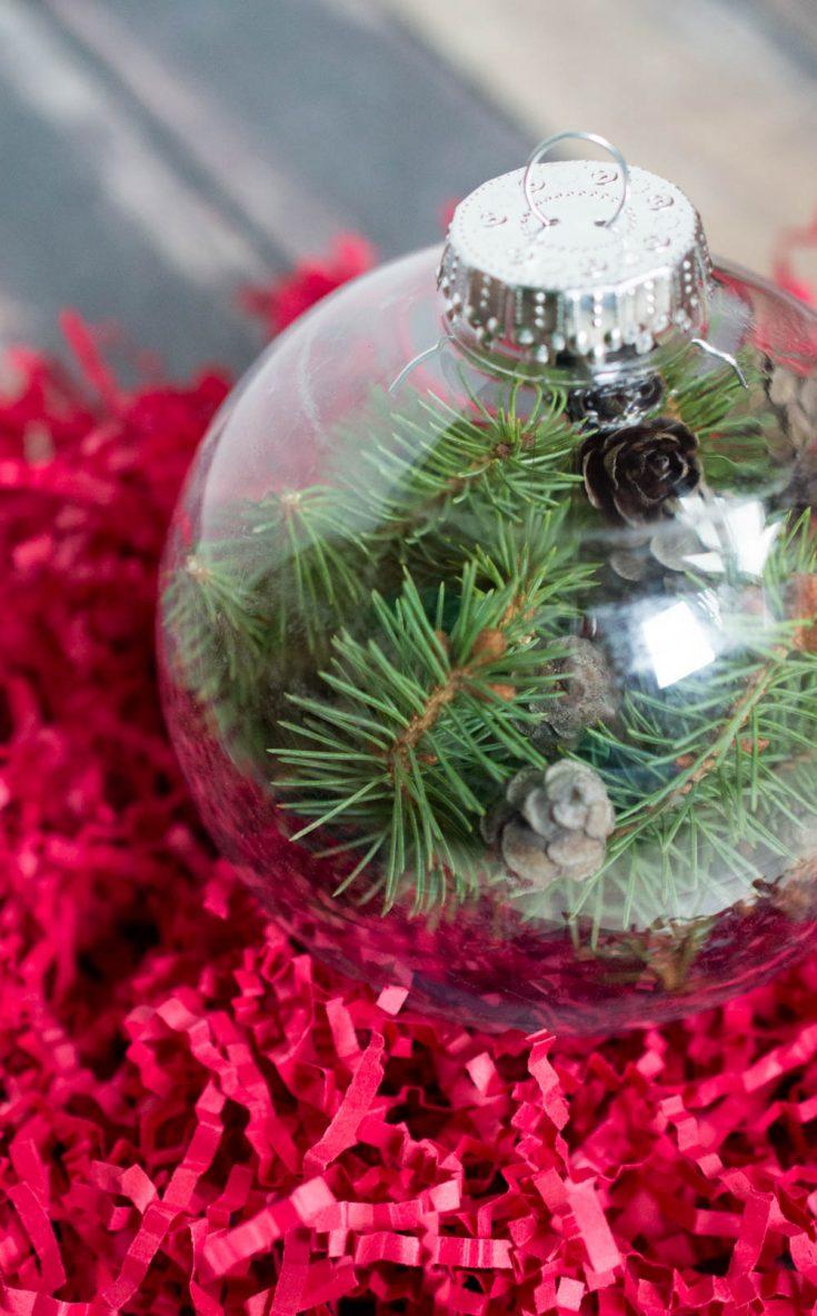 DIY Easy Christmas Ornament