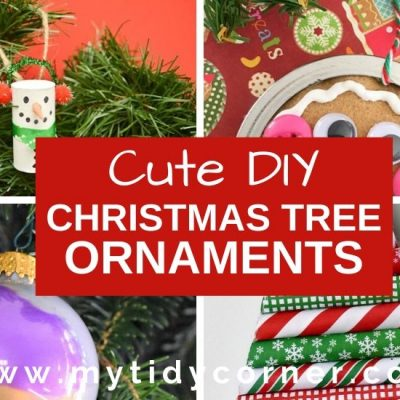 25 Homemade Christmas Tree Ornaments