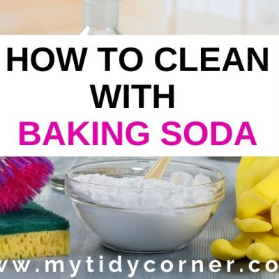 How and What to Clean with Baking Soda