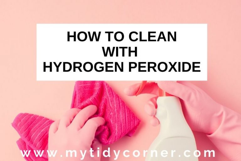 Hydrogen peroxide cleaning hacks and uses