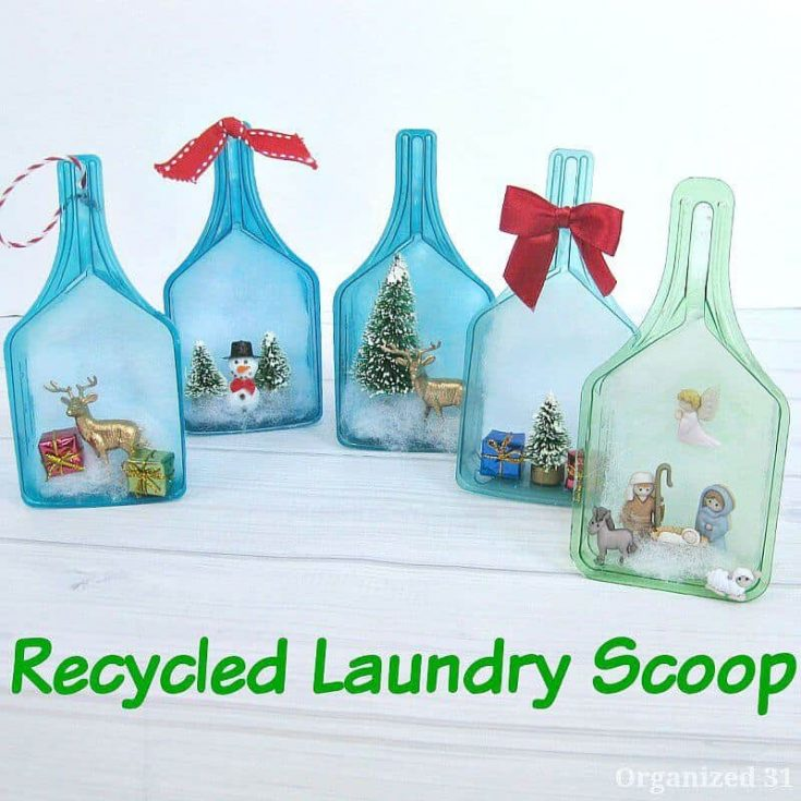 Recycled Laundry Scoop