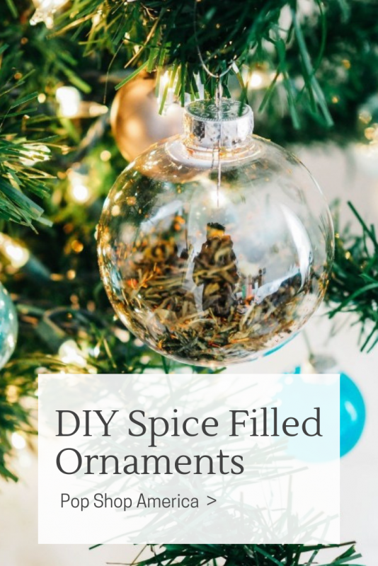Spice Filled Ornaments DIY