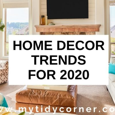 7 Home Decor Trends for 2020