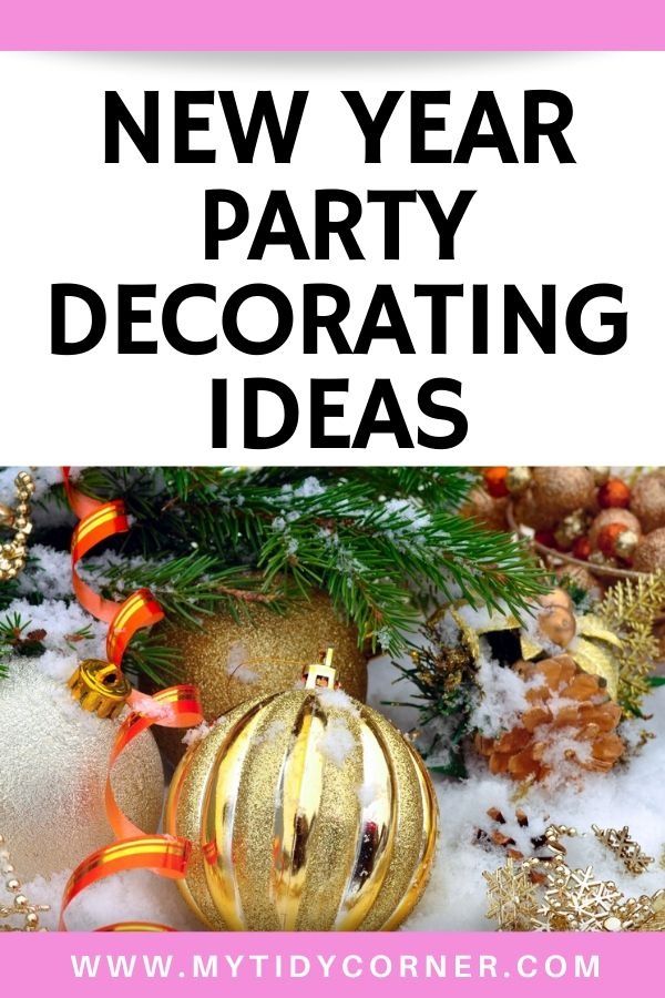 New Years party decorating ideas