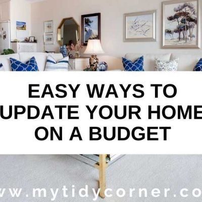 How to Update Your Home on a Budget