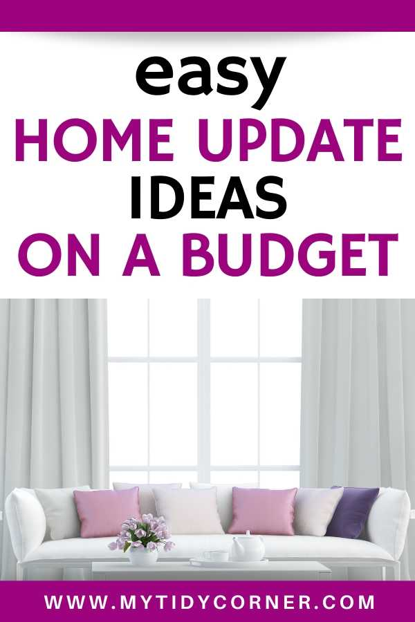 Inexpensive ways to update your home without renovation
