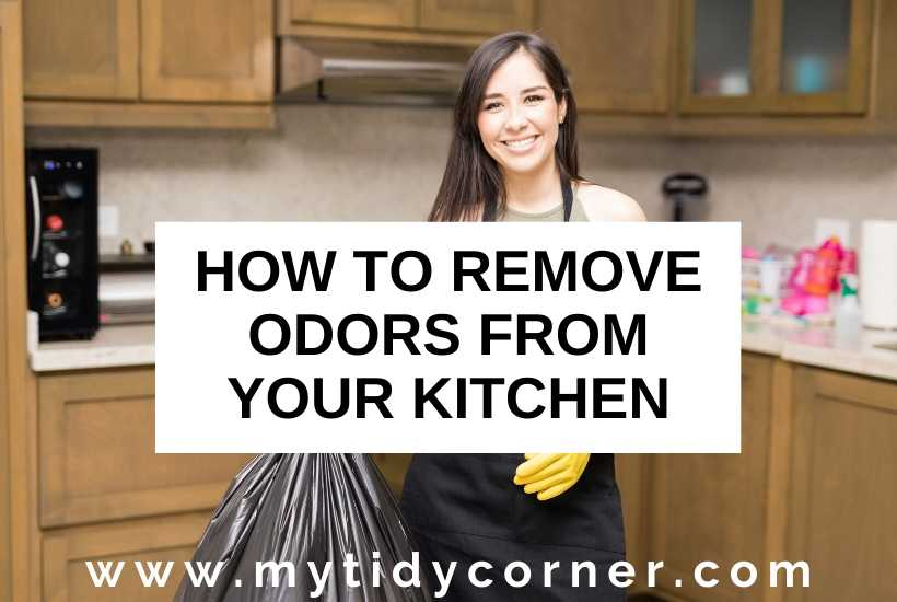 How to eliminate kitchen odors