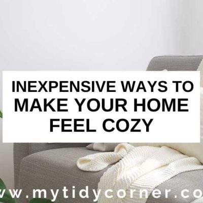 How to Make Your Home Feel Cozy
