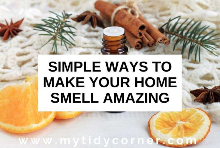 How to make your home smell good all the time