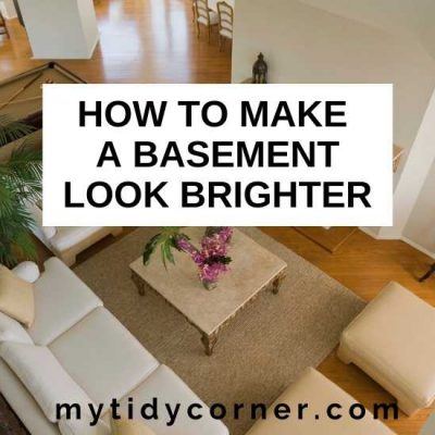 10 Ways to Make a Basement Look Brighter