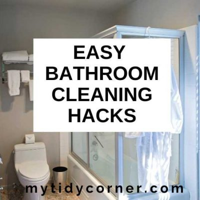 14 Bathroom Cleaning Hacks