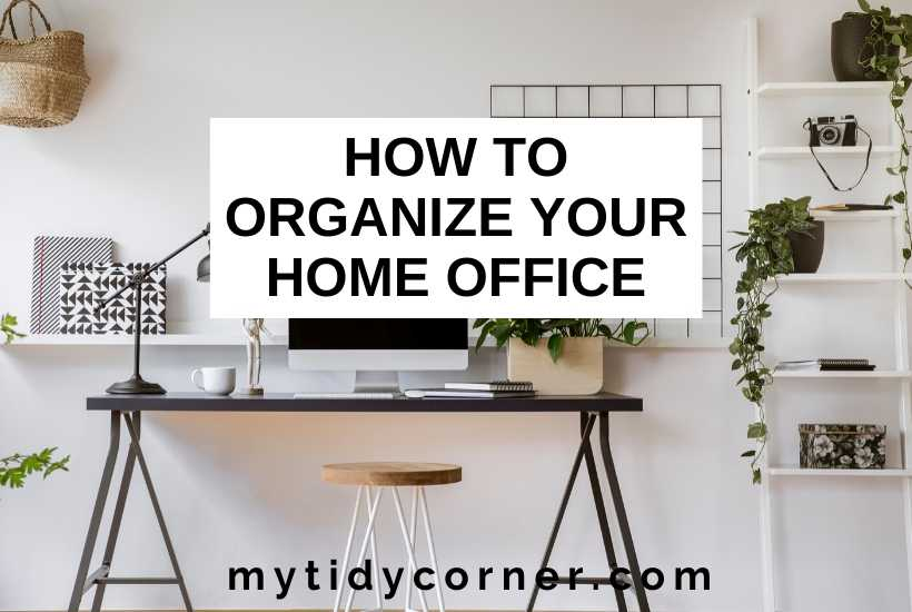 How to organize a small home office