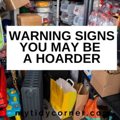 9 Signs You May Be a Hoarder