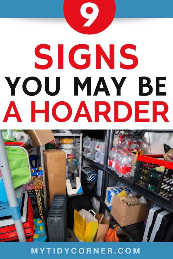Warning signs of a hoarder