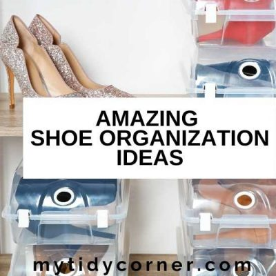 Best Shoe Organizing Ideas