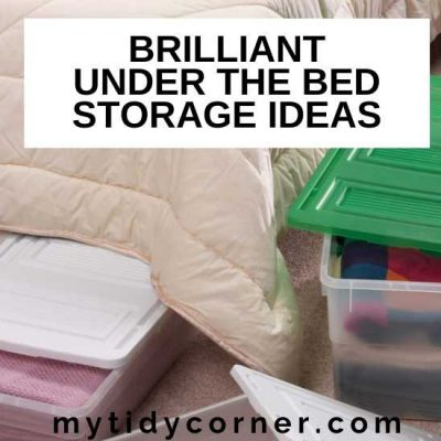 5 Under the Bed Storage Ideas