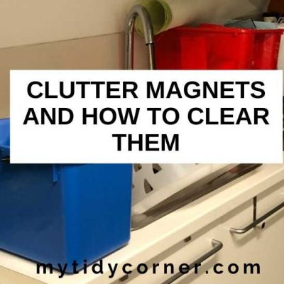 Top 6 Clutter Magnets Making Your Home Cluttered
