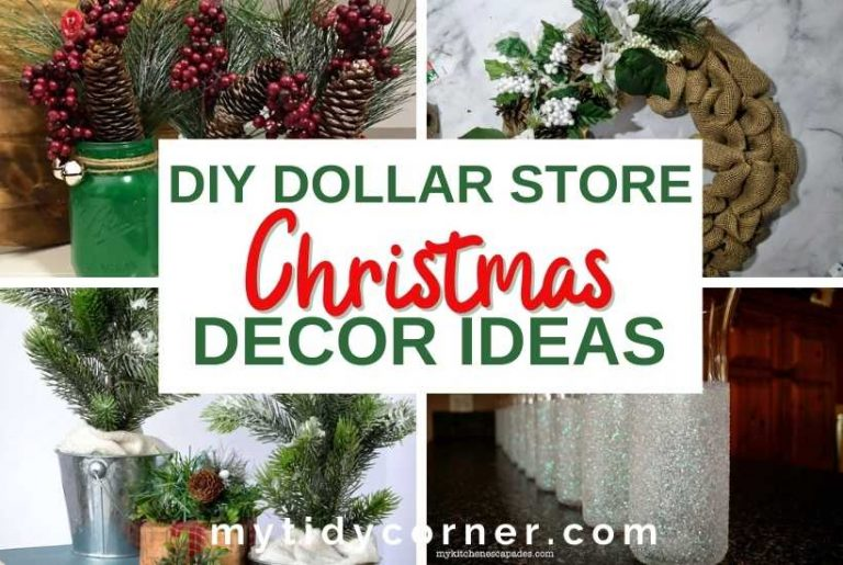 DIY Dollar Store Christmas decor ideas