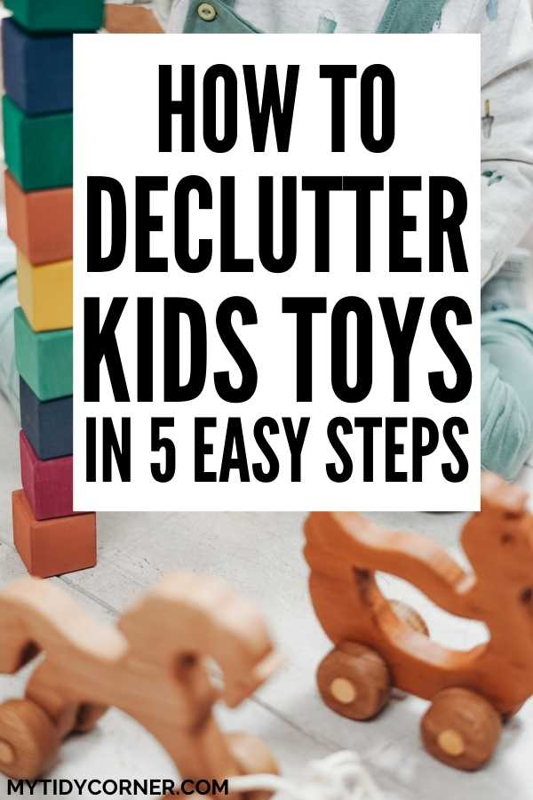 Decluttering kids toys