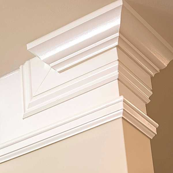 Crown molding decor piece